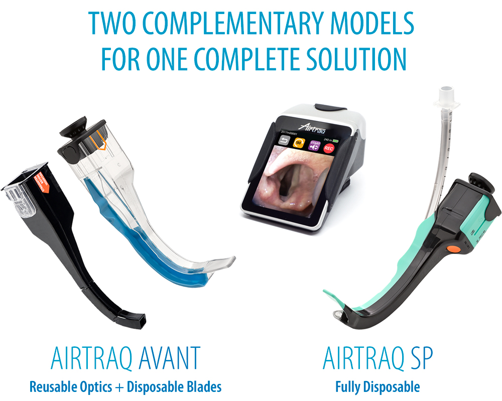 Airtraq - Two complementary models for one complete solution