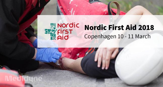 Meet Medidyne at Nordic First Aid 2018